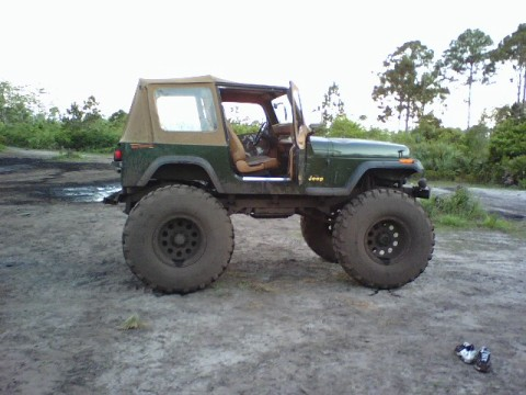 jeep with lift kit