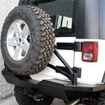 Jeep Bumpers & Tire Carriers Photo
