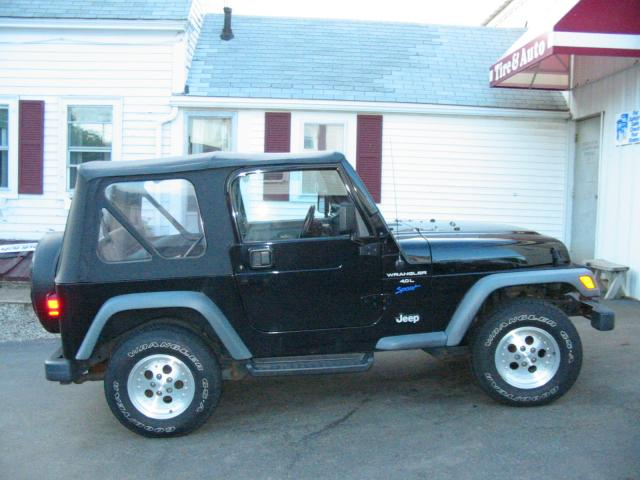 Stock 1998 Jeep Wrangler TJ