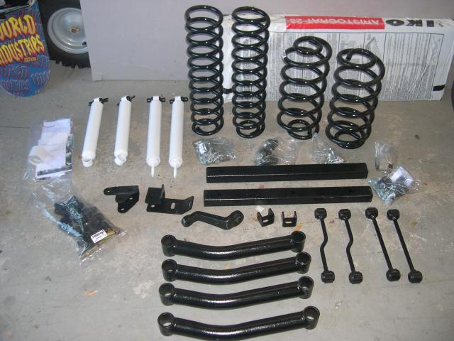 Rough Country Lift Kit parts