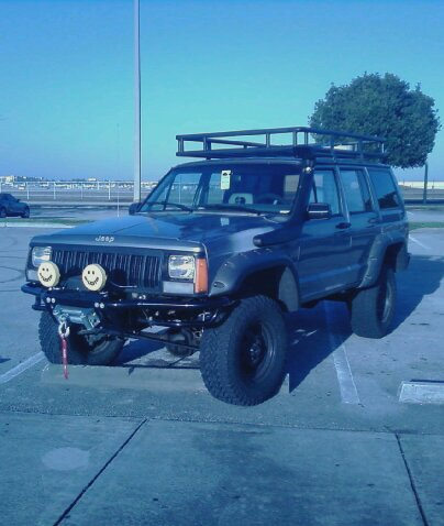 Jeep Cherokee XJ Lifted